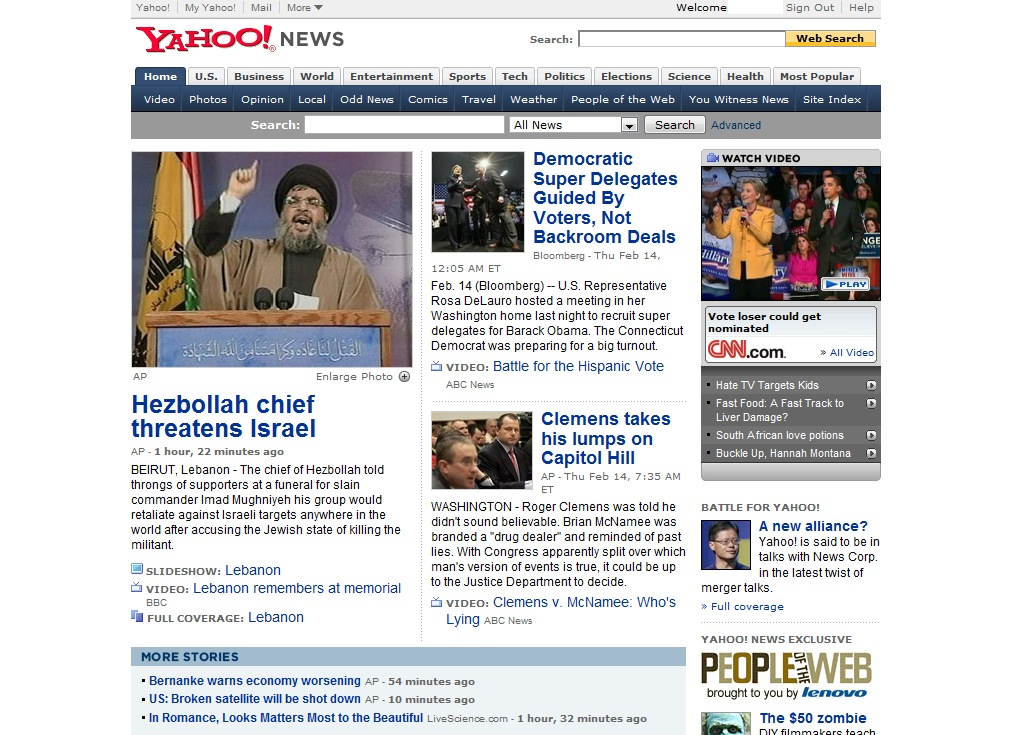 Yahoo News. #1 Online News Site. | The Product Guy