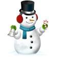 Snowman&Bell